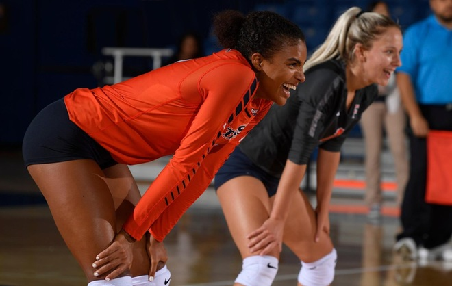 Marshall Records Career-High 20 Kills on Saturday, But Titans Fall to Long Beach State