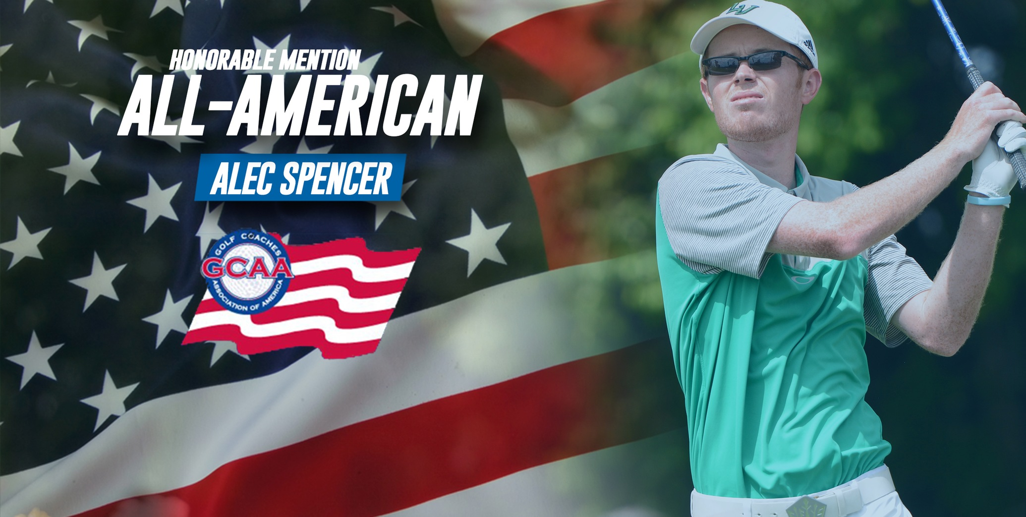 Alec Spencer tabbed GCAA All-American