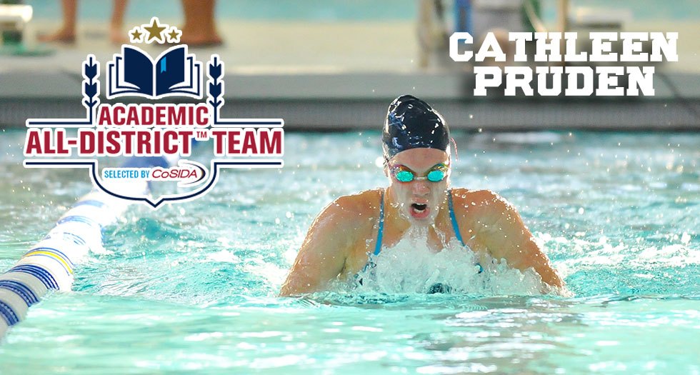 Pruden Garners Third Consecutive Academic All-District Honors