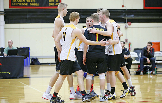 Men's Volleyball Notches Sixth Straight Win; Earns GNAC's Top Seed