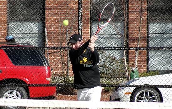 Men's Tennis Closes Out Home Slate With Win Over Lesley