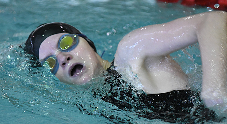 Dual-Meet Win For Women's Swimming At Gallaudet