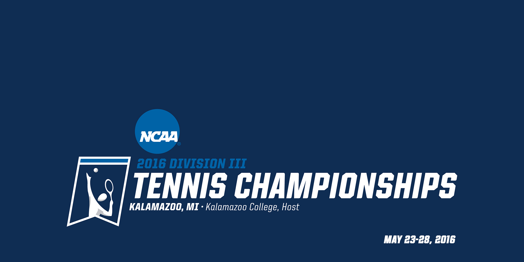 2016 NCAA Division III Tennis Championships in Kalamazoo, Michigan