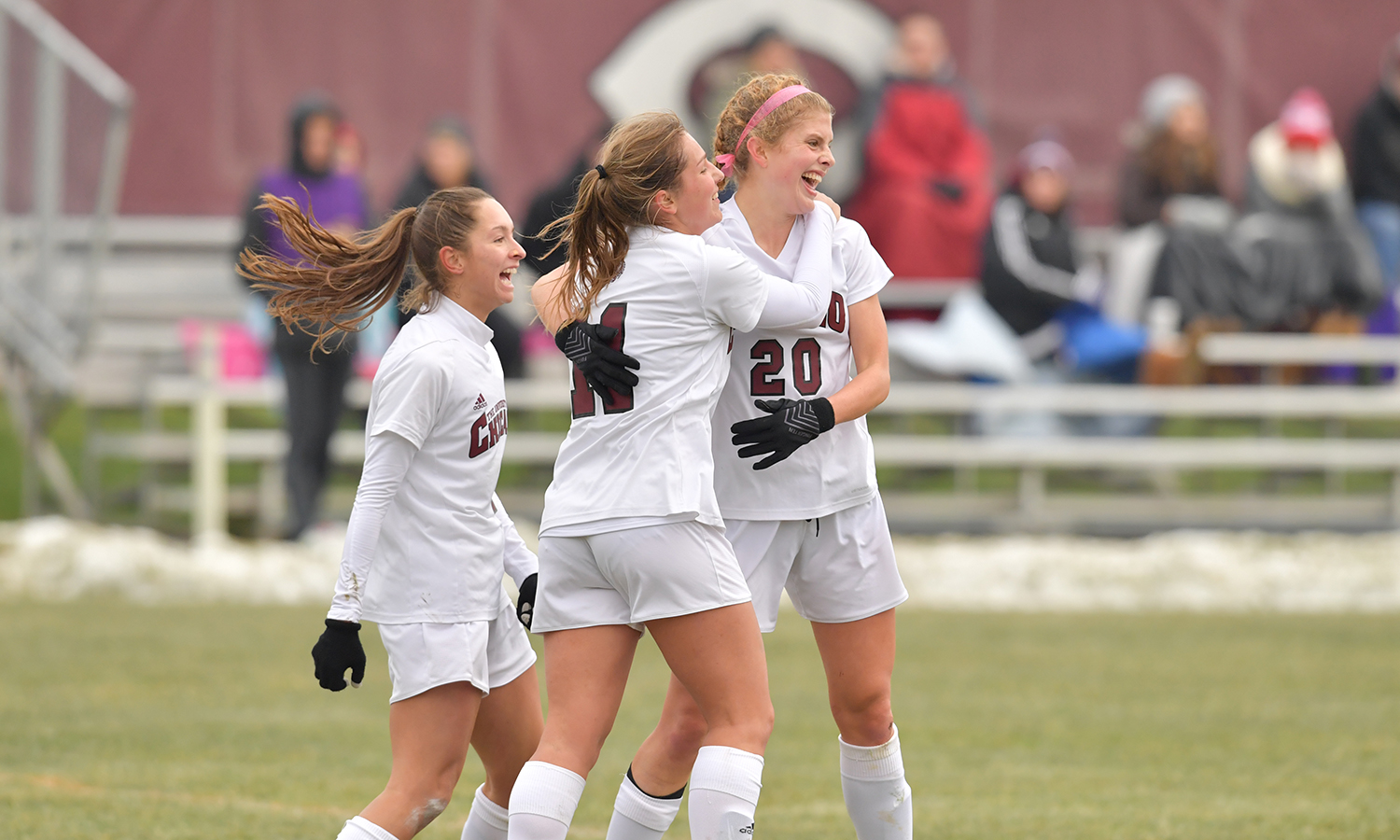 Maroon Women's Soccer Tops Augsburg 4-1 in NCAA Second Round Game