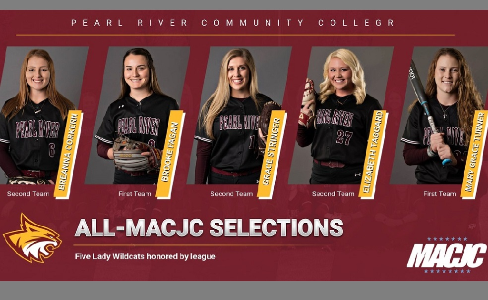 5 Pearl River softball standouts named to All-MACJC teams