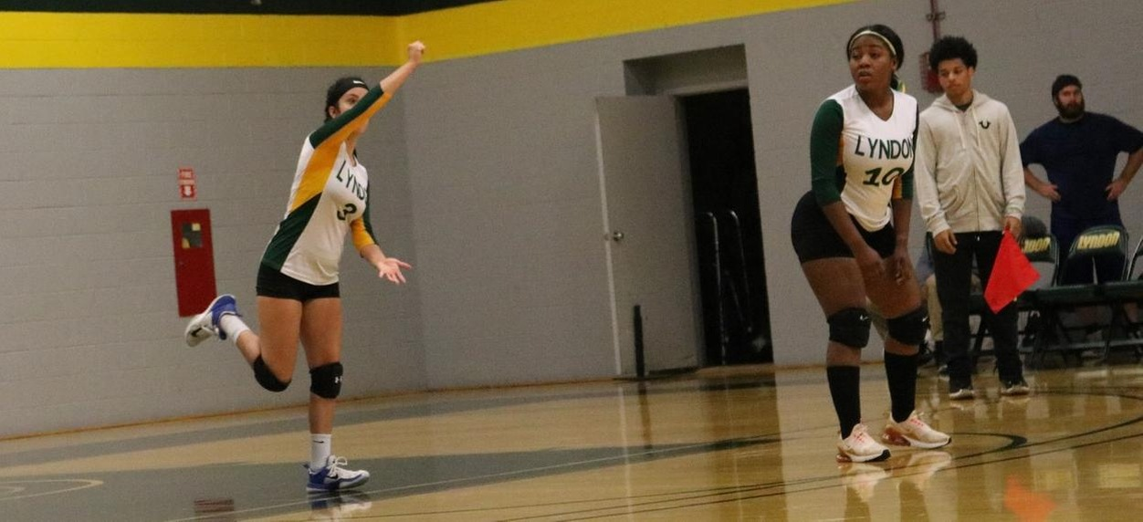 Hornet Volleyball falls to NVU-Johnson in straight sets