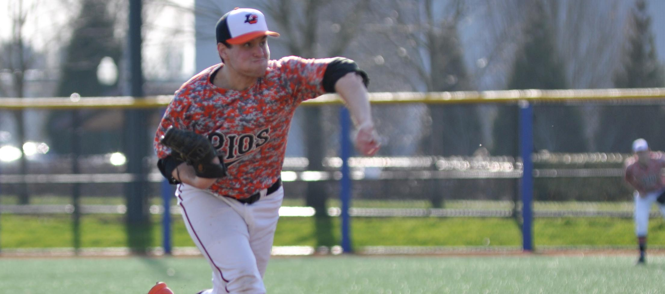 Landecker retires first 13 batters as Pios beat No. 14 Whitworth
