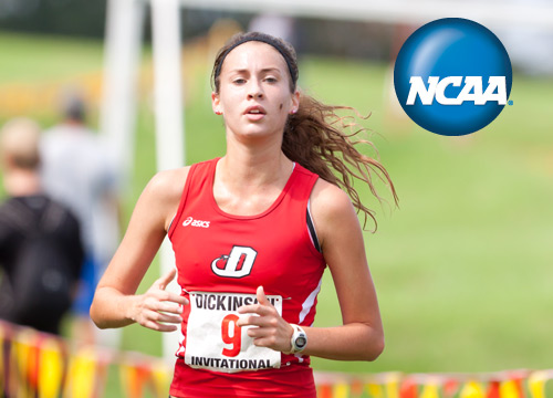 Taylor Ludman captured the individual title at the NCAA Mideast Regional Championships, leading Dickinson to second in the team standings and an automatic bid to Nationals<BR>