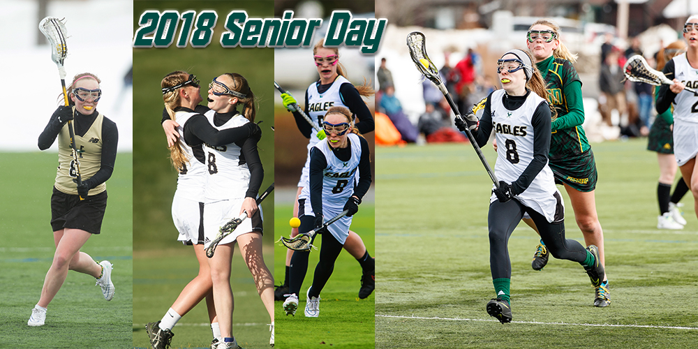 Deshaies Becomes Women's Lacrosse Career Points Leader in Senior Day Victory over Colby-Sawyer