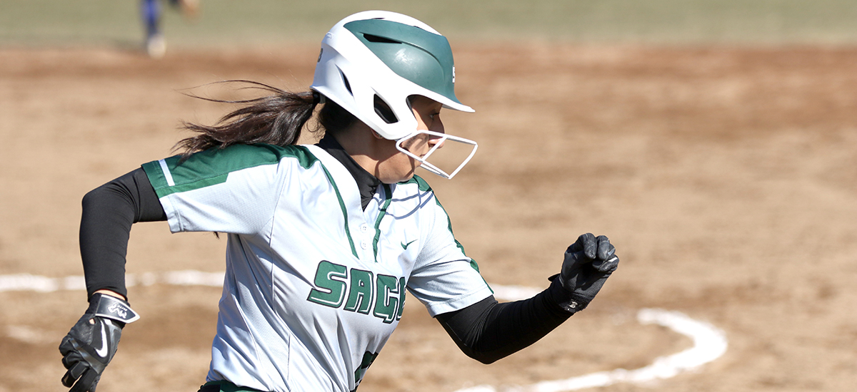 Sage Softball Sweeps League Twinbill at Houghton