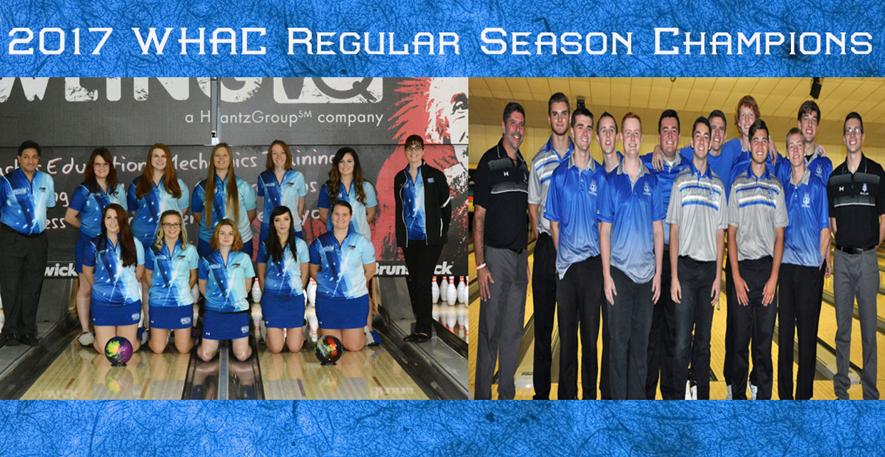 Photo for Men's and Women's Bowling Earns WHAC Regular Season Title