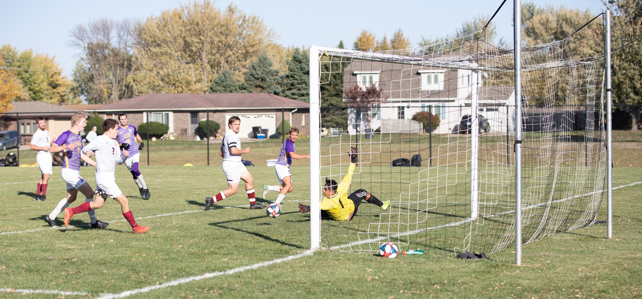 Freshman goalkeeper Ramon Hernandez has had a sensational season for the Eagles