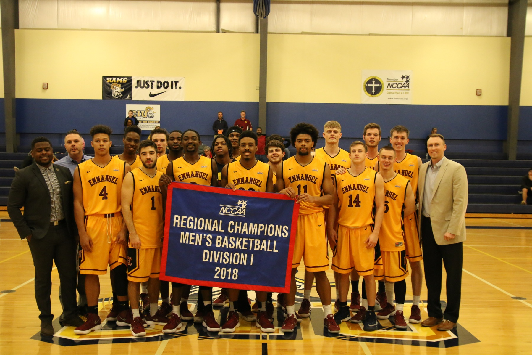 Men's Basketball Lions Head to Nationals!