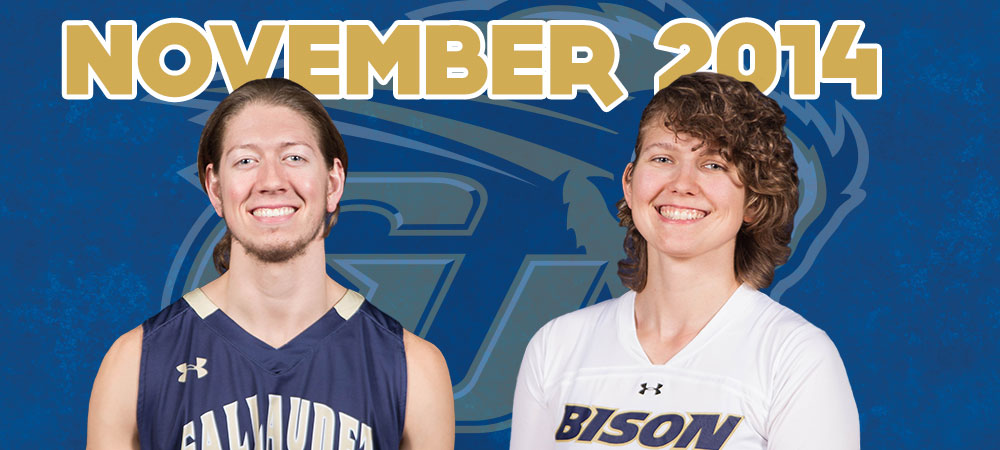 Trey Gordon and Julia Wolff named November Bison of the Month presented by GIS