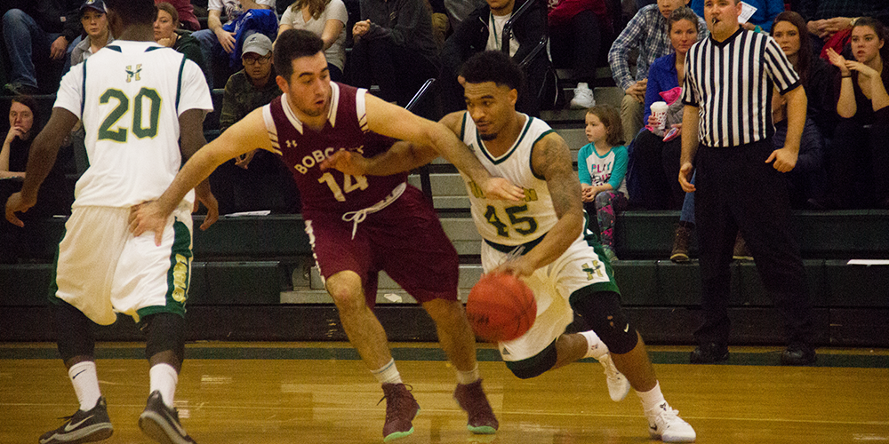 Men's Basketball Falls to 3-1 After a Tough Loss at Home to the Bobcats