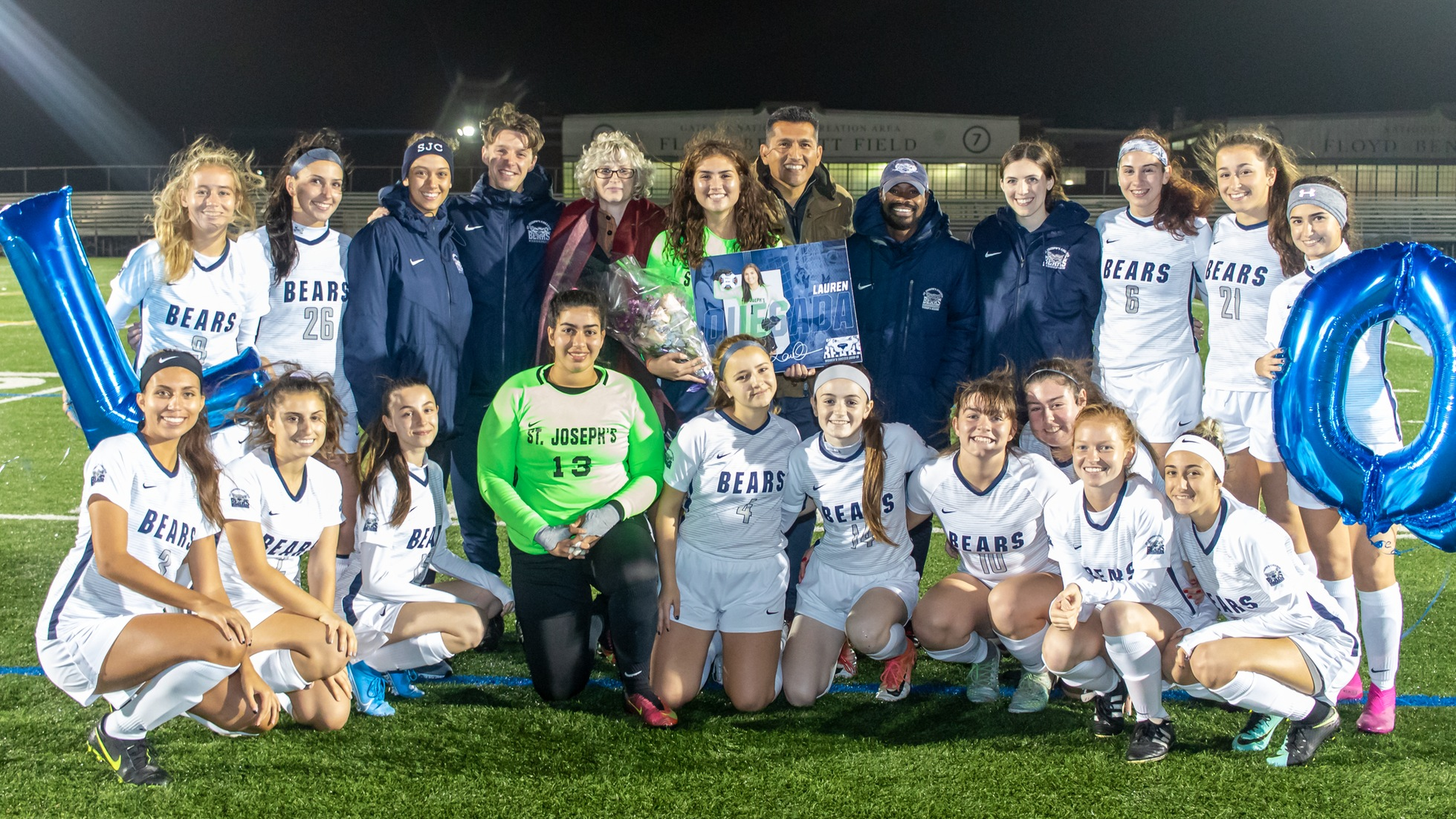 De Rosa Scores as Women's Soccer Falls to Sarah Lawrence on Senior Night