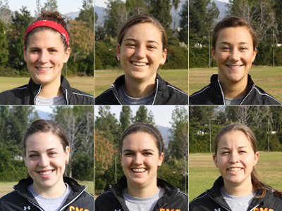 Athenas Win 20-3; Six Seniors Honored