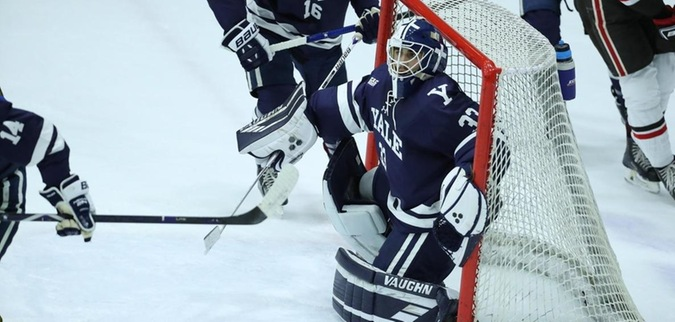 the latest 403d4 61178 Yale beats RPI, moves into first place in ECAC Hockey ...