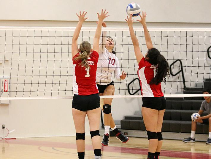 Rivera Hits Record 30 Kills, Women's VB Opens 2-2 At Pierce Tourney