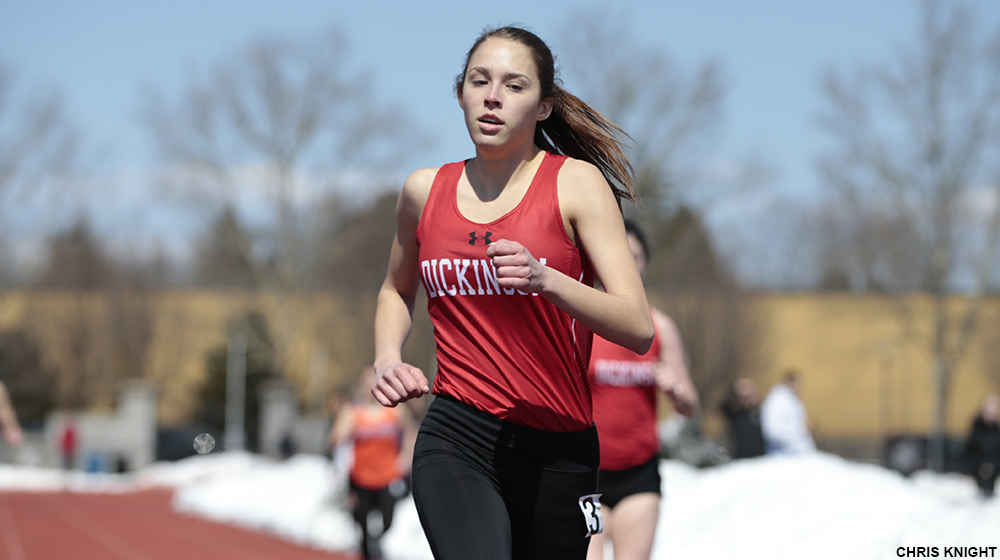 Women's T&F Pulls Double Duty at Messiah/Bucknell