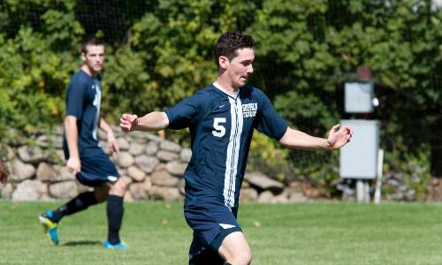 Daniels, Bittan Strike In Men's Soccer Victory