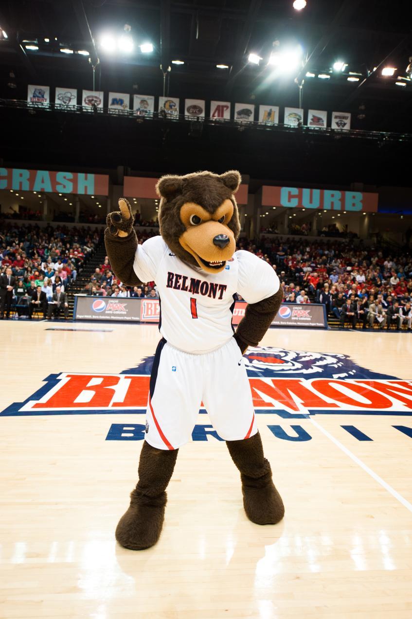 Vote Bruiser the Bruin for Favorite OVC Mascot - Belmont Bruins