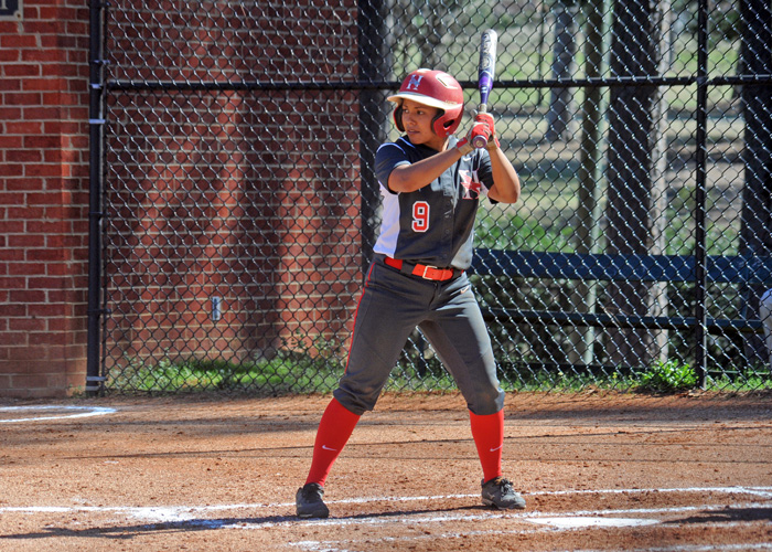Gabby Alcantar was 3-for-7 with three RBIs and three runs in Friday's sweep of Covenant. (Photo by Wesley Lyle)