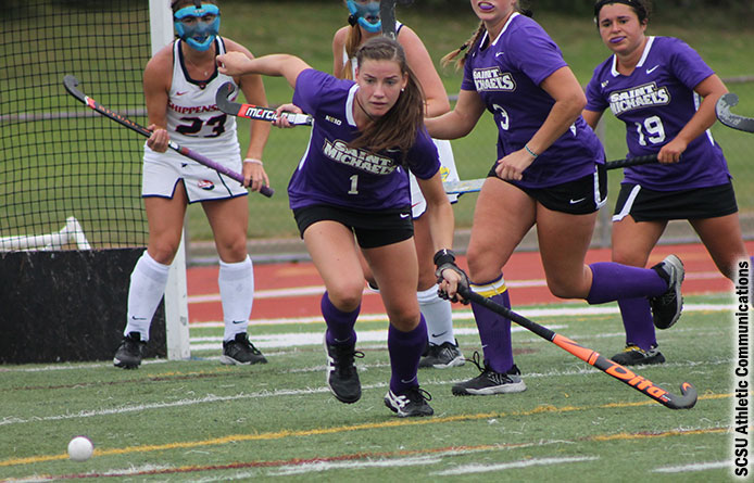 Field Hockey Opens Home Slate with Second Straight 2-1 Loss, Falling to Franklin Pierce