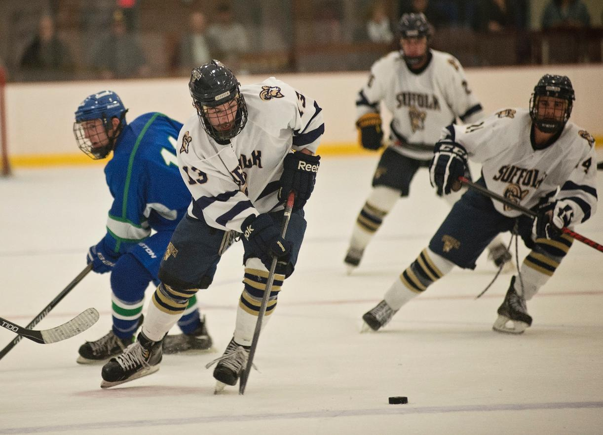 Men's Hockey Entertains Nichols Saturday