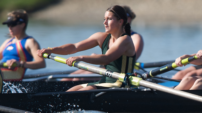 Rowing Wins Four Races in Season-Opening Sacramento State Invitational