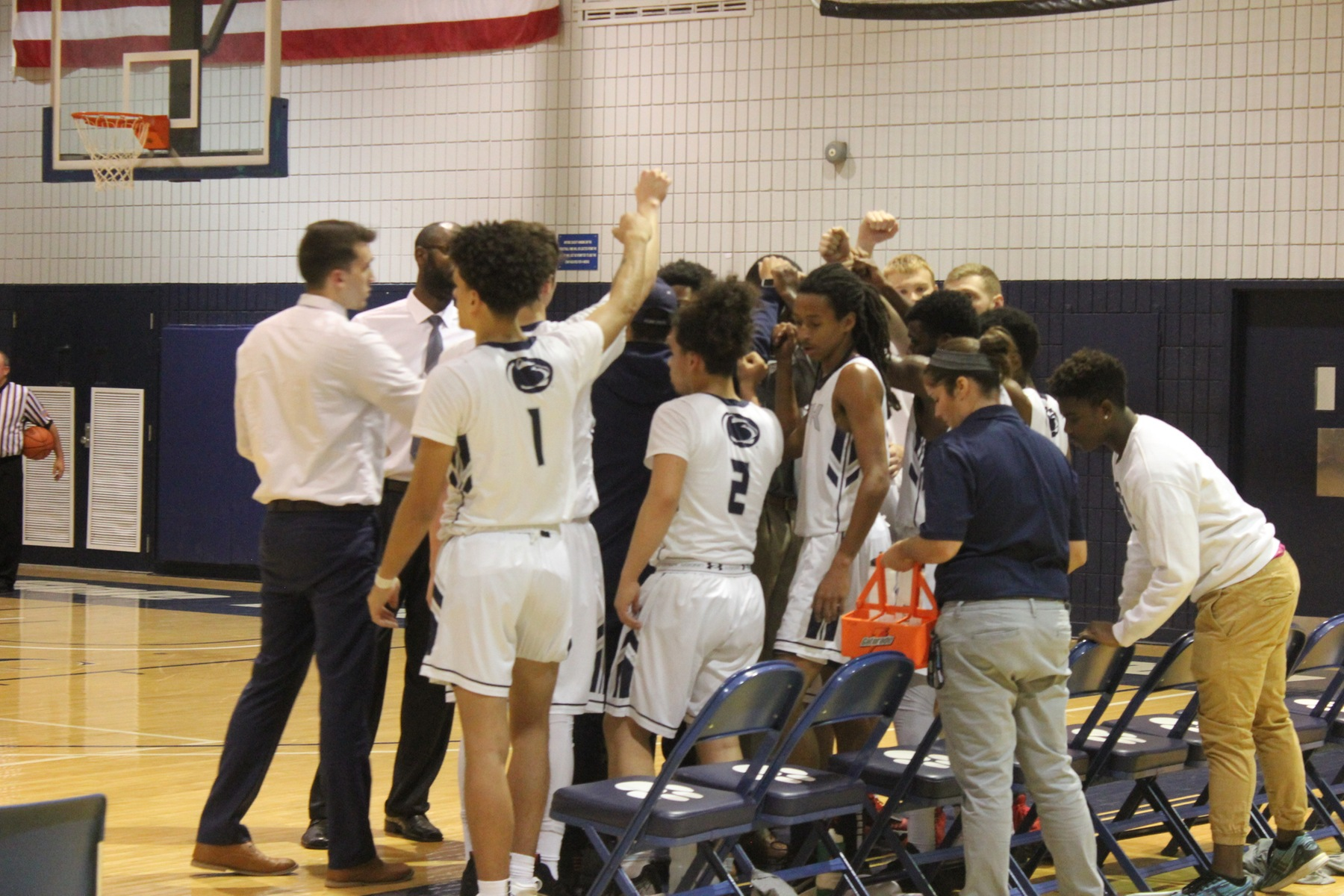 New Kensington Takes Loss in Men's Basketball