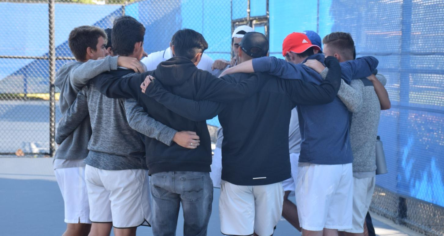 Men's tennis team sweeps Santa Barbara for eighth straight win