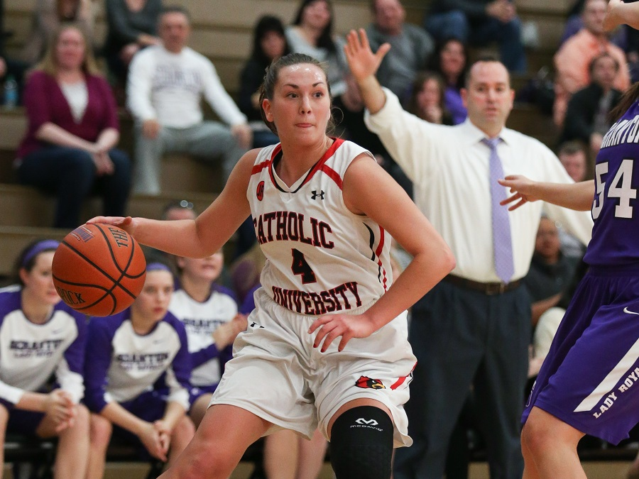 Lady Cards Fall, 70-52, on the Road to No. 7 Scranton