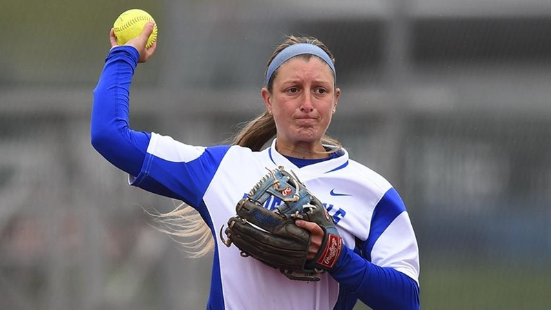 Ogilvie Homers, Softball Comes Up Short Against Michigan State, 11-5