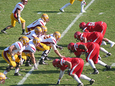 Ferris State suffered a 41-7 loss at Saginaw Valley State in its season finale (Photo by Sandy Gholston)