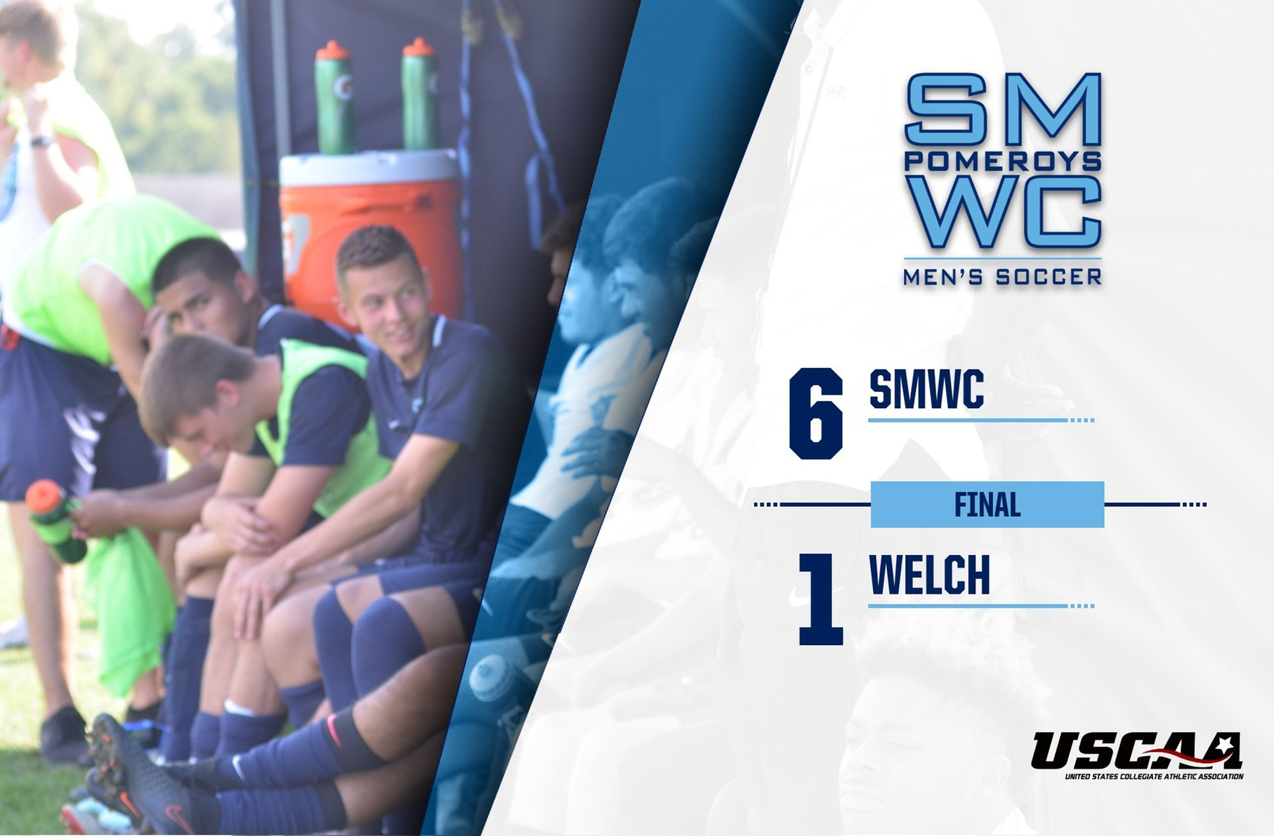 Men's Soccer Starts New Win Streak with 6-1 Victory Over Welch