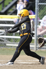 Jess Warner leads the Retrievers with 10 homeruns this year