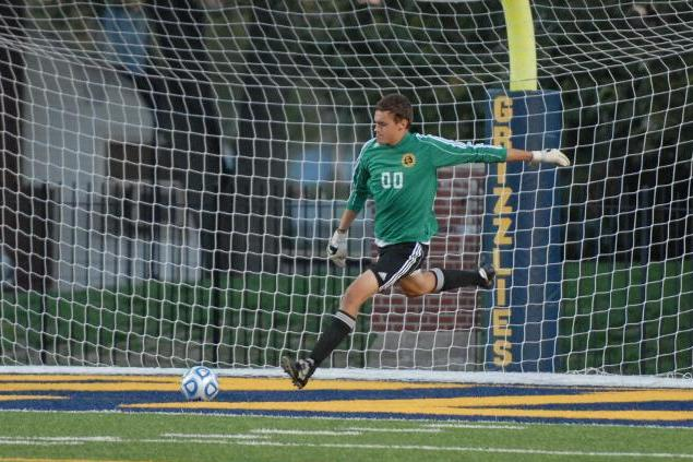 Men's Soccer Battles to 1-1 Draw at Centre
