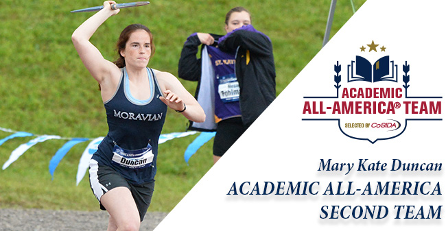 Duncan Selected to CoSIDA Academic All-America 2nd Team for Women's Track & Field/Cross Country