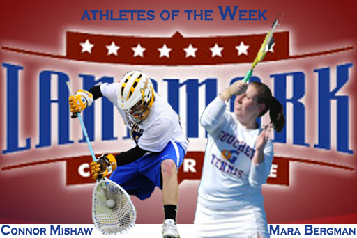 Pair from Goucher Earn Landmark's Weekly Honors