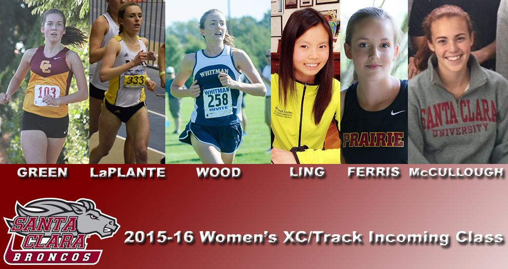 Cross Country/Track Announces 2015-16 Women's Recruiting Class