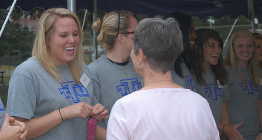 Tech women's basketball hosts Welcome Back Picnic