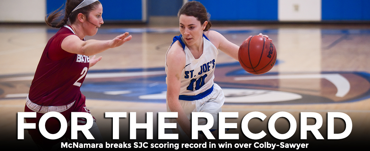 McNamara Becomes SJC All-Time Leading Scorer, Monks Top Chargers, 75-52
