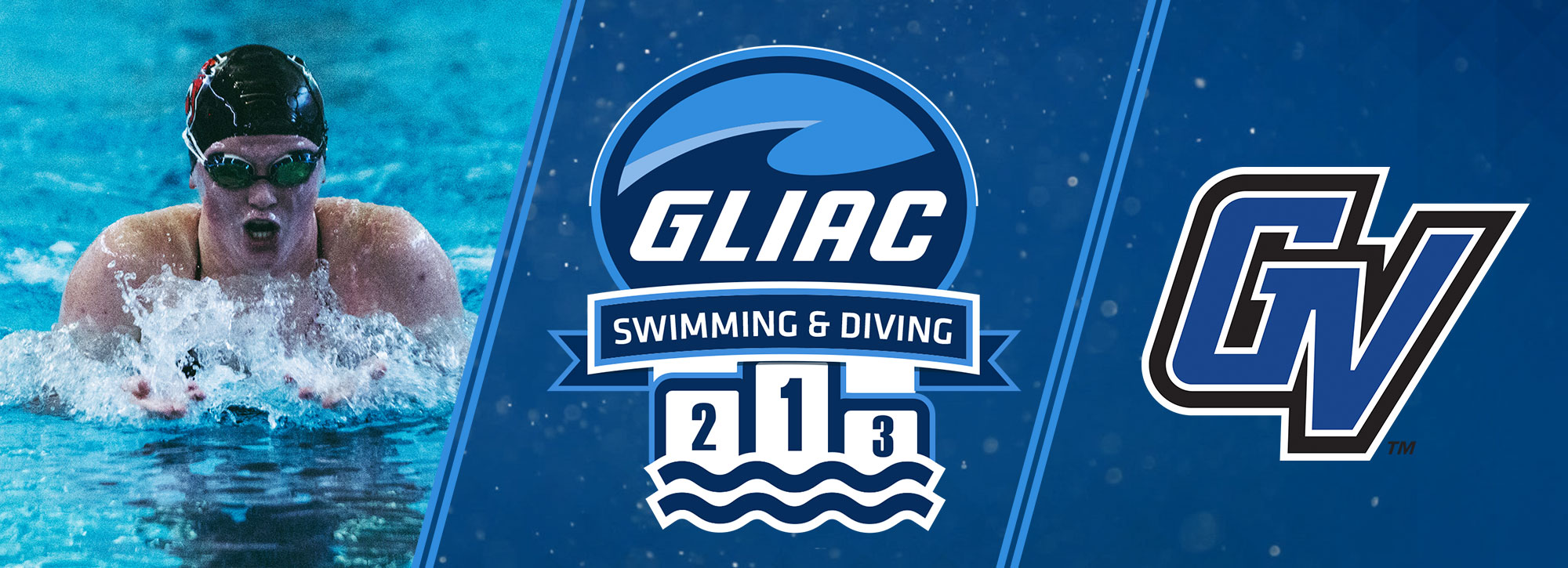 Davenport's Postmus, Grand Valley State's Goodyear Selected GLIAC Swimming Athletes of the Week