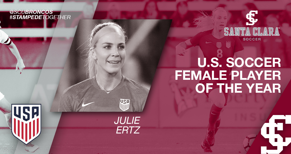 Julie Ertz (Johnston) Named 2017 U.S. Soccer Female Player of the Year