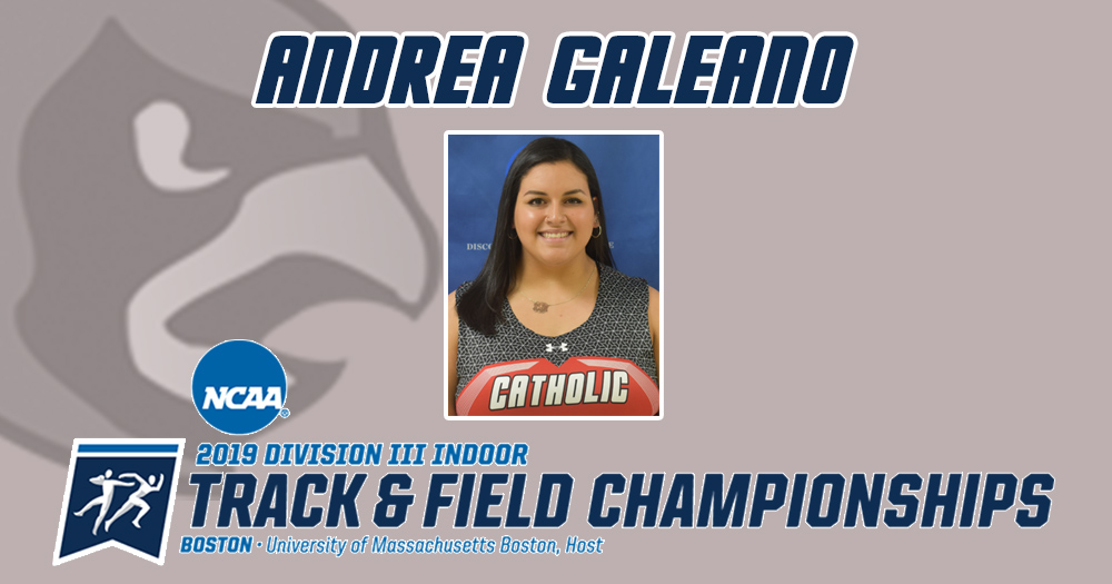 Galeano Qualifies for 2019 NCAA Indoor Championships