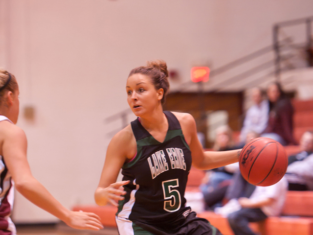 Storm Women Fall on the Road at Hillsdale