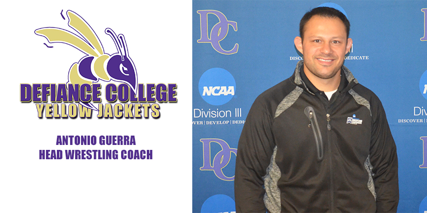 Yellow Jackets Name Guerra Head Wrestling Coach