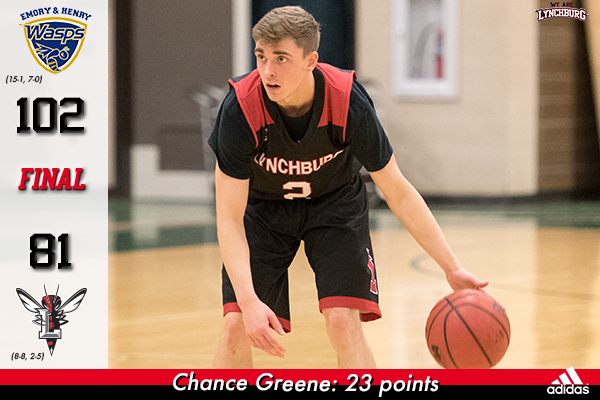 Chance Greene dribbles the basketball.
