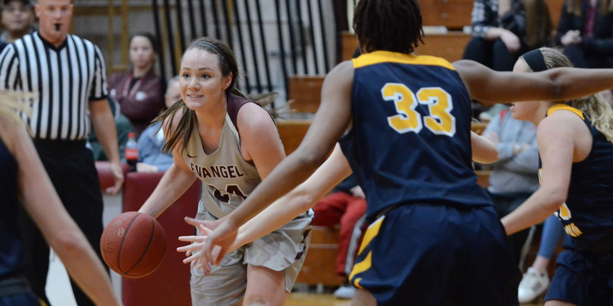 Evangel Women's Basketball Earns Upset of No. 19 William Penn in 73-65 Victory